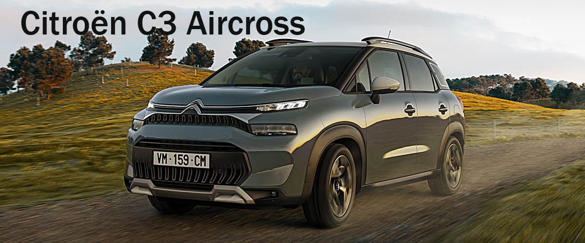 Citroën C3 Aircross: Facelift