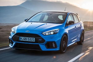 Ford Focus RS Blue&Black