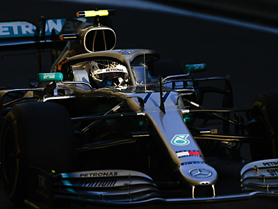 GP Aserbaidschan - Vallteri Bottas holt Pole-Position