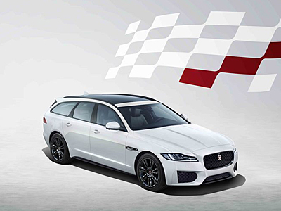 Jaguar XF Sportbrake Chequered Flag