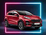 Kia Sportage: Dream-Team-Sondermodell